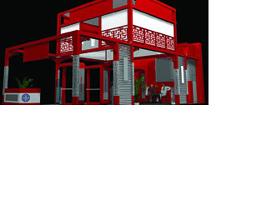 二層中式風格展廳3dmax模型