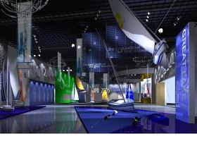 3dmax展厅模型图片