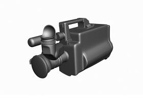 部队老摄像机3DMAX