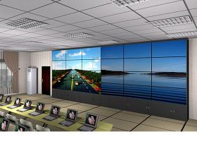大屏拼接室内监控设计效果图3Dmax下载