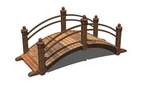 木拱桥su模型下载 木拱桥su模型下载