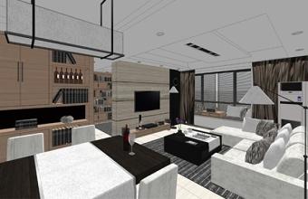 精品免费现代风格客餐厅卫生间厨房卧室SU模型下载 精品免费现代风格客餐厅卫生间厨房卧室SU模型下载