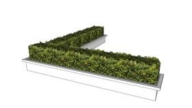 绿植墙 草图大师模型SU模型下载 绿植墙 草图大师模型SU模型下载