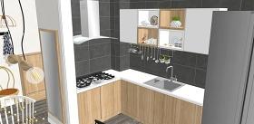 精品免费现代风格单身公寓家装设计su模型下载 精品免费现代风格单身公寓家装设计su模型下载