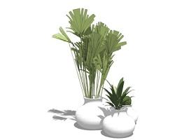 精品免费花瓶插花摆件SU模型下载 精品免费花瓶插花摆件SU模型下载