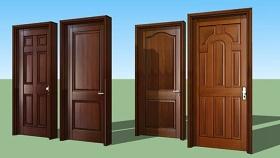 门组合 草图大师模型SU模型下载 门组合 草图大师模型SU模型下载
