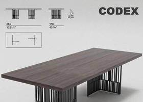 美式復古鐵藝做舊家具實木長方形桌辦公桌 工業風 簡約 會議桌子3D模型下載 美式復古鐵藝做舊家具實木長方形桌辦公桌 工業風 簡約 會議桌子3D模型下載