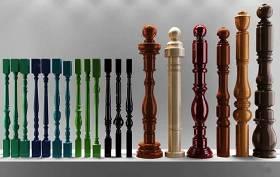 歐式實木樓梯護欄立柱扶手3D模型下載 歐式實木樓梯護欄立柱扶手3D模型下載
