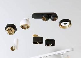 現代射燈軌道射燈3D模型下載 現代射燈軌道射燈3D模型下載