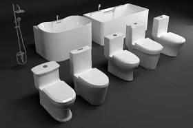 現代浴室馬桶浴缸花灑組合3d模型下載 現代浴室馬桶浴缸花灑組合3d模型下載
