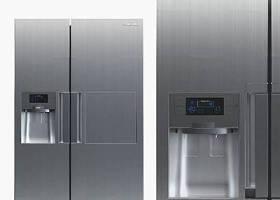 現代雙門冰箱3D模型下載 現代雙門冰箱3D模型下載