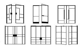 現代玻璃門商場推拉門3D模型下載 現代玻璃門商場推拉門3D模型下載