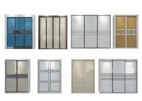 現代衣柜門板組合3d模型下載 現代衣柜門板組合3d模型下載