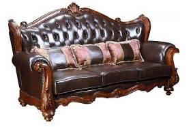 欧式皮革多人沙发双人沙发组合3D模型下载 欧式皮革多人沙发双人沙发组合3D模型下载