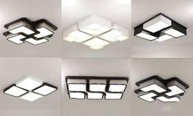 現代吸頂燈組合3D模型下載 現代吸頂燈組合3D模型下載