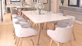 餐桌椅组合 草图大师模型SU模型下载 餐桌椅组合 草图大师模型SU模型下载