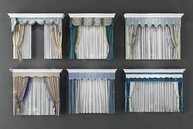 窗帘 3D模型 下载 窗帘 3D模型 下载