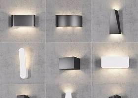 現代壁燈組合 現代壁燈 壁燈組合3D模型下載 現代壁燈組合 現代壁燈 壁燈組合3D模型下載