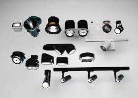 现代筒灯射灯摄像头组合3d模型下载 现代筒灯射灯摄像头组合3d模型下载