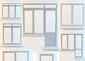 現代玻璃窗戶組合3D模型下載 現代玻璃窗戶組合3D模型下載