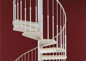 现代白色旋转楼梯3D模型下载 现代白色旋转楼梯3D模型下载