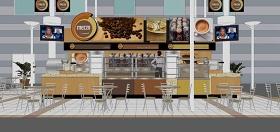 精品免费超市精品面包店su模型下载 精品免费超市精品面包店su模型下载