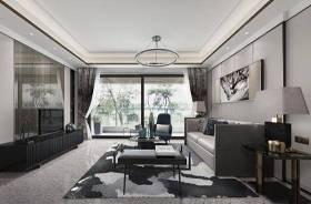 大集空间设计新中式客厅 吊灯 台灯 多人沙发 茶几 单人椅子 电视柜 摆件 地毯3D模型下载 大集空间设计新中式客厅 吊灯 台灯 多人沙发 茶几 单人椅子 电视柜 摆件 地毯3D模型下载