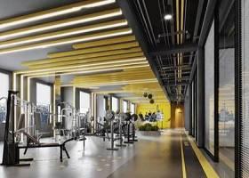 现代健身房大厅3D模型下载 现代健身房大厅3D模型下载