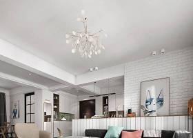 北欧客厅餐厅 沙发茶几 餐桌椅 吊灯 摆件组合 单人沙发3D模型下载 北欧客厅餐厅 沙发茶几 餐桌椅 吊灯 摆件组合 单人沙发3D模型下载
