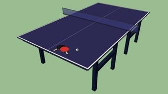 乒乓球桌 草图大师模型SU模型下载 乒乓球桌 草图大师模型SU模型下载