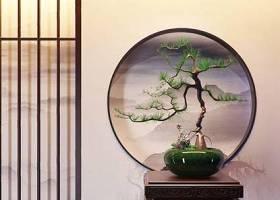 新中式松树盆栽 绿植 盆栽 松树3D模型下载 新中式松树盆栽 绿植 盆栽 松树3D模型下载