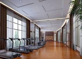 现代健身房 灰色跑步机3D模型下载 现代健身房 灰色跑步机3D模型下载