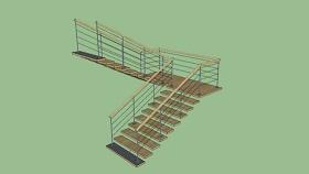 樓梯SU模型下載 樓梯SU模型下載