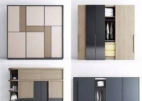 現代衣柜組合 現代衣柜 推移門 衣柜組合3D模型下載 現代衣柜組合 現代衣柜 推移門 衣柜組合3D模型下載