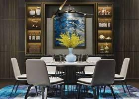 現代餐桌椅酒柜擺件組合3D模型下載 現代餐桌椅酒柜擺件組合3D模型下載