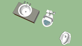 厕所 挂钟 电开关 照相机 聚光灯 卷笔刀 SU模型下载 厕所 挂钟 电开关 照相机 聚光灯 卷笔刀 SU模型下载