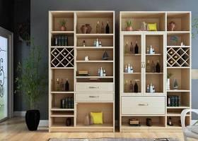 現代酒柜裝飾柜擺件組合3D模型下載 現代酒柜裝飾柜擺件組合3D模型下載