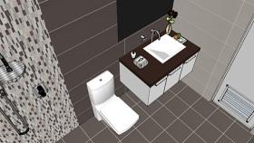 男孩的厕所和浴室- 1 马桶座 饰品 纸巾 钩子 断头台 SU模型下载 男孩的厕所和浴室- 1 马桶座 饰品 纸巾 钩子 断头台 SU模型下载
