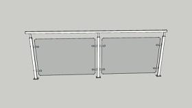 栏杆 草图大师模型SU模型下载 栏杆 草图大师模型SU模型下载