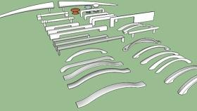 门把手 草图大师模型SU模型下载 门把手 草图大师模型SU模型下载