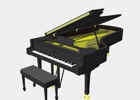 樂器鋼琴SU模型下載 樂器鋼琴SU模型下載
