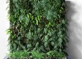 绿化墙 3D模型下载 绿化墙 3D模型下载