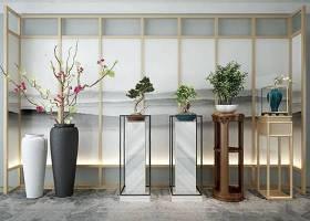 新中式花瓶花台摆件组合 新中式花瓶 花台 摆件组合3D模型下载 新中式花瓶花台摆件组合 新中式花瓶 花台 摆件组合3D模型下载