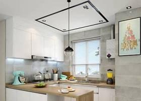 北欧厨房橱柜吧台3D模型下载 北欧厨房橱柜吧台3D模型下载