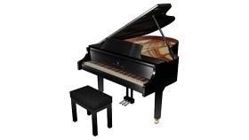 鋼琴 草圖大師模型SU模型下載 鋼琴 草圖大師模型SU模型下載