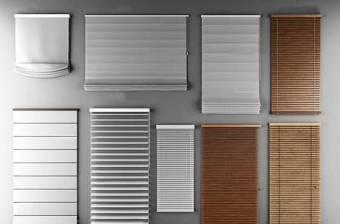 现代竹帘百叶窗窗帘组合3D模型下载 现代竹帘百叶窗窗帘组合3D模型下载