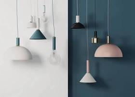 北歐時尚小吊燈組合3D模型下載 北歐時尚小吊燈組合3D模型下載