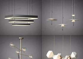現代吊燈組合 現代吊燈 進水吊燈 吊燈組合3D模型下載 現代吊燈組合 現代吊燈 進水吊燈 吊燈組合3D模型下載