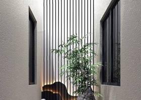 新中式別墅天井景觀小品 新中式景觀 綠植 水紋沙子 石頭 中式小景 竹子 背景墻3D模型下載 新中式別墅天井景觀小品 新中式景觀 綠植 水紋沙子 石頭 中式小景 竹子 背景墻3D模型下載