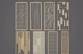 隔断屏风组合 现代隔断 屏风组合3D模型下载 隔断屏风组合 现代隔断 屏风组合3D模型下载